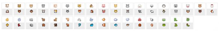 Icon facebook động vật dễ thương