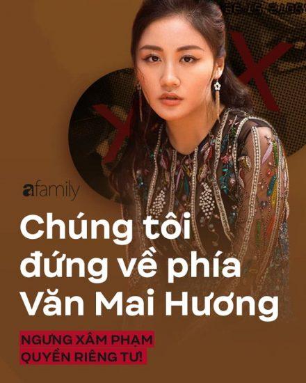 Mọi người luôn đứng về phía Van mai Huong