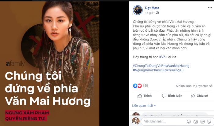 Nghệ sỹ ra sức bảo vệ Văn Mai Hương