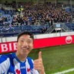 Đoàn Văn Hậu được ra sân lần đầu tại CLB SC Heerenveen
