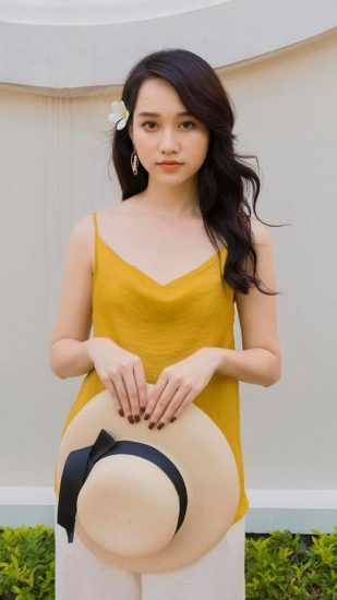 Nguyễn Trúc Anh nhân vật Hà Lan trong phim Mắt Biếc