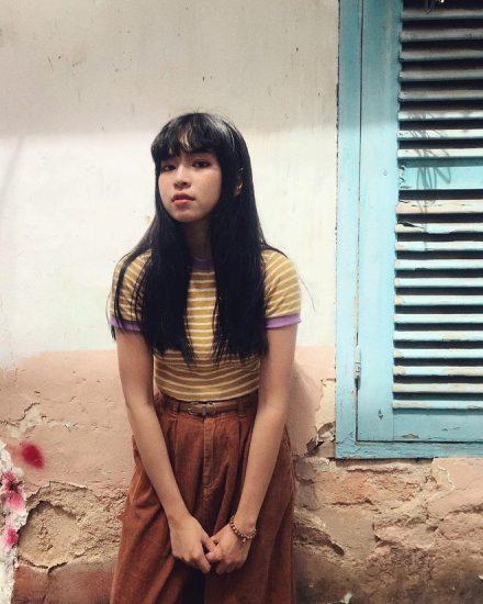 Đỗ Khánh Vân nhân vật Trà Long trong phim Mắt Biếc