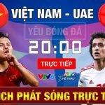 Link Xem Trực Tiếp U23 Việt Nam gặp U23 UAE hôm nay 17h15