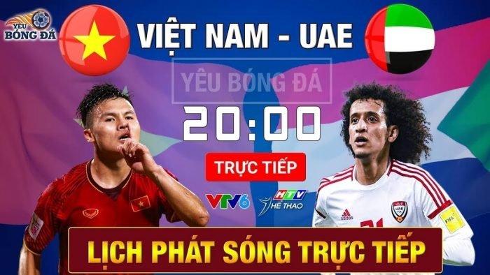 Link xem trực tiếp bóng đá U23 Việt Nam gặp U23 UAE hôm nay 10/1/2019