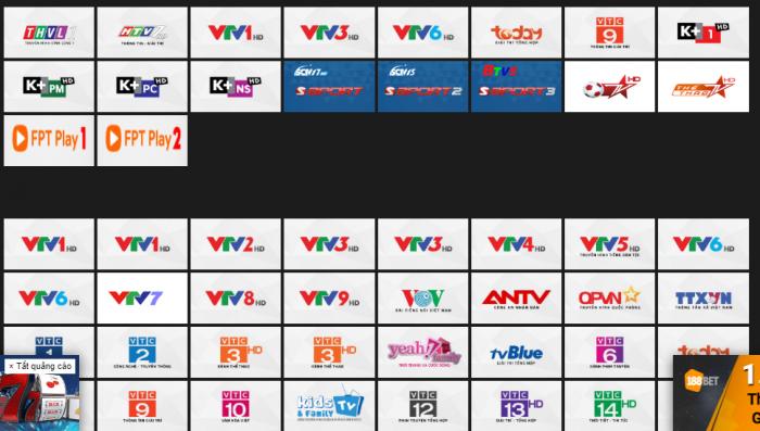 Xem trực tiếp bóng đá trên vtv6 HD online