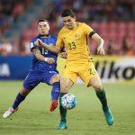 Link xem trực tiếp bóng đá U23 Australia gặp U23 Thái Lan Lúc 20h15 ngày 11/1/2020