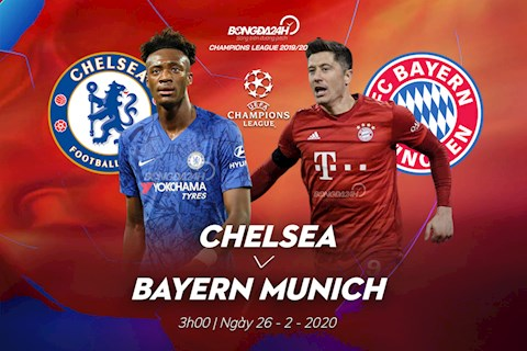 Link xem trực tiếp Chelsea vs Bayern Munich