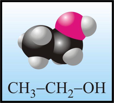 Cấu tạo phân tử của hợp chất hữu cơ etanol