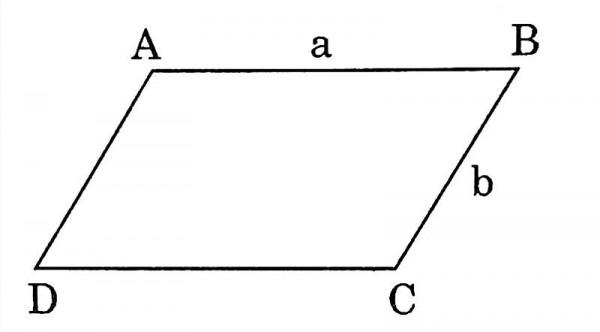 Chu vi hình bình hành là tổng độ dài các cạnh bào quanh hình cộng lại