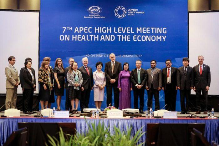 Một hội nghị cấp cao về sức khỏe và kinh tế của APEC tổ chức tại Việt Nam