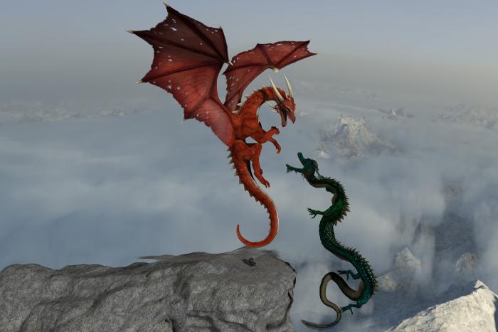 Không chỉ khác biệt về hình dáng mà ý nghĩa của Rồng trong văn hóa Tây phương và Đông phương cũng khác nhau