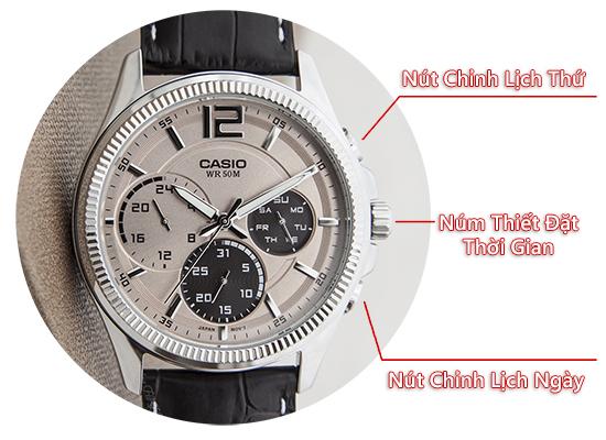 Cách chỉnh đồng hồ 6 kim Casio như thế nào chuẩn nhất?