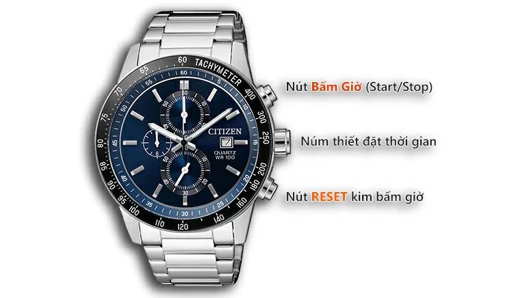 Cách chỉnh đồng hồ 6 kim Citizen chính hãng