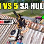 """""""ROS 1 VS 5 Clutch Ending!"""" (Rules of Survival)"""
