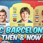 FIFA 20 | FC BARCELONA FIRST AND PRESENT FUT CARDS! 😱 | FIFA 09 – FIFA 20