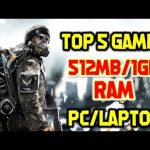 Top Games For 512MB/1GB RAM PC Without Graphic Card | Top 5 Games For 1GB RAM PC Download