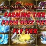 XẾP HẠNG NHỮNG TRÁI ÁC QUỶ TRONG GAME KING PIECE // RATE THE DEVIL FRURT IN THE KING PIECE GAME
