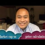 Cryptocurrency's market cap calculation vs it's price