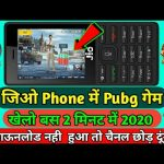 Jio Phone Me Pubg Game Kaise Khele | Jio Phone New Update pubg game | Jio Phone Me Pubg Mobile game