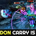YAWAR Carry the Game with Forgotten Hero Abaddon 7.26 Dota 2