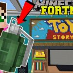 Minecraft: TOY STORY LIVING ROOM – FORTNITE BATTLE ROYALE – Modded Mini-Game