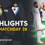 Highlights Real Madrid vs SD Eibar (3-1)