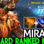 MIRACLE [Earthshaker] One Mistake Lose the Game Aggressive Plays 7.22 Dota 2