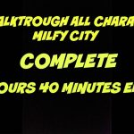 Full Walktrough All Characters Milfy City – COMPLETE
