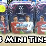 New Match Attax 18/19 Champions League Mini Tin Opening | 3 Limited Edition | 3 100 Clubs