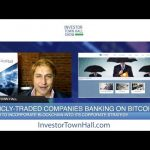 David Drake Cryptocurrency Market Update & Public Companies Banking on Bitcoin