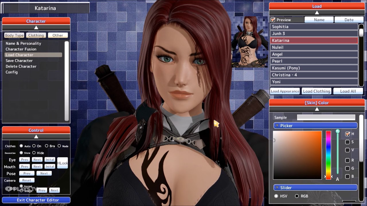 Honey Select: Katarina From League of Legends Character