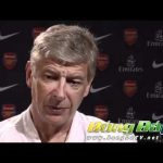 Malaysia XI v Arsenal :  Wenger exclusive.