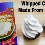 Whip Cream in 3 Minutes | Instant Whip Cream Made From Whipping Powder