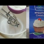 How to make perfect whipping cream/ nadac whipping cream