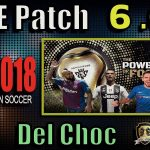 [PES 2018] PTE Patch 6.0 Final Update (Unofficial by Del Choc)