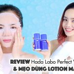 Review Hada Labo Perfect White & Mẹo Dưỡng Trắng Với Lotion Mask