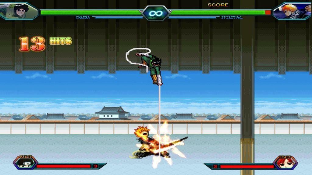 Chơi game Bleach vs Naruto 3.1 online game đối kháng 2 người hay nhất