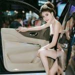 Người mẫu quảng cáo xe hơi dành cho PR Marketing Quảng Cáo